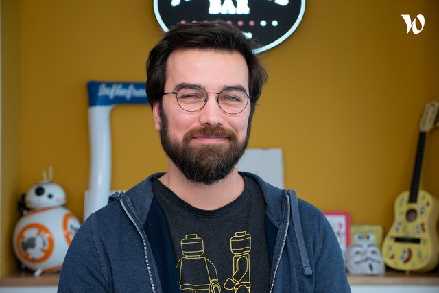 Rencontrez Pierre, Développeur Front - NewQuest