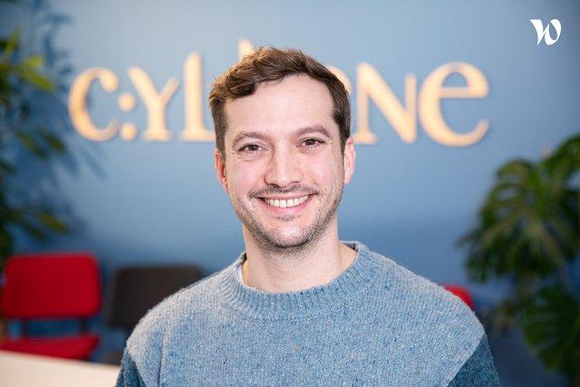 Rencontrez Benoit, Directeur de Production - Cyllene