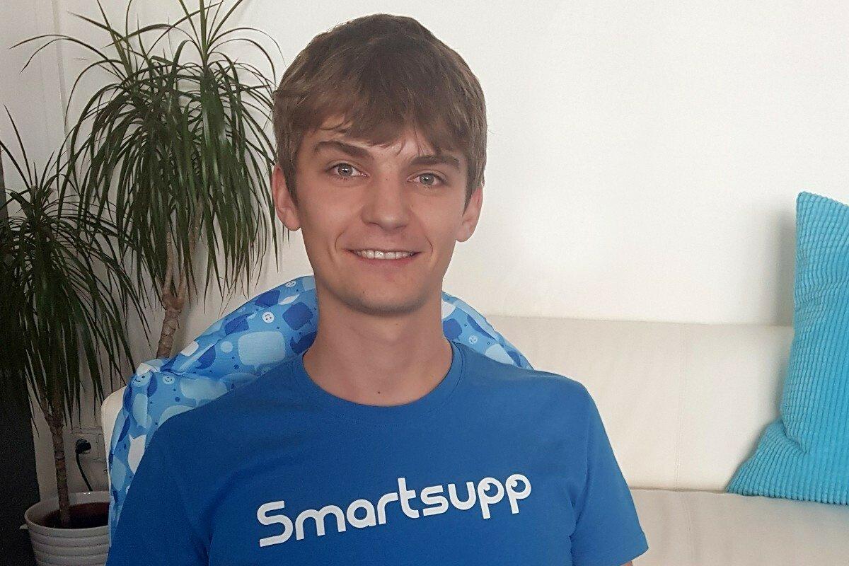 Martin, Frontend developer - Smartsupp.com