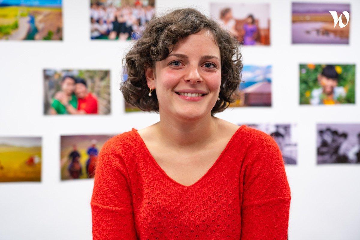 Rencontrez Swann, Chargée de campagnes webmarketing - Vision Du Monde