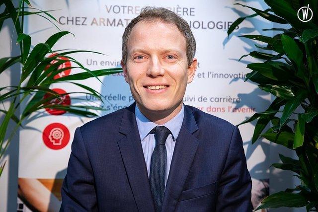 Rencontrez Aymeric, Directeur commercial - Armature Technologies