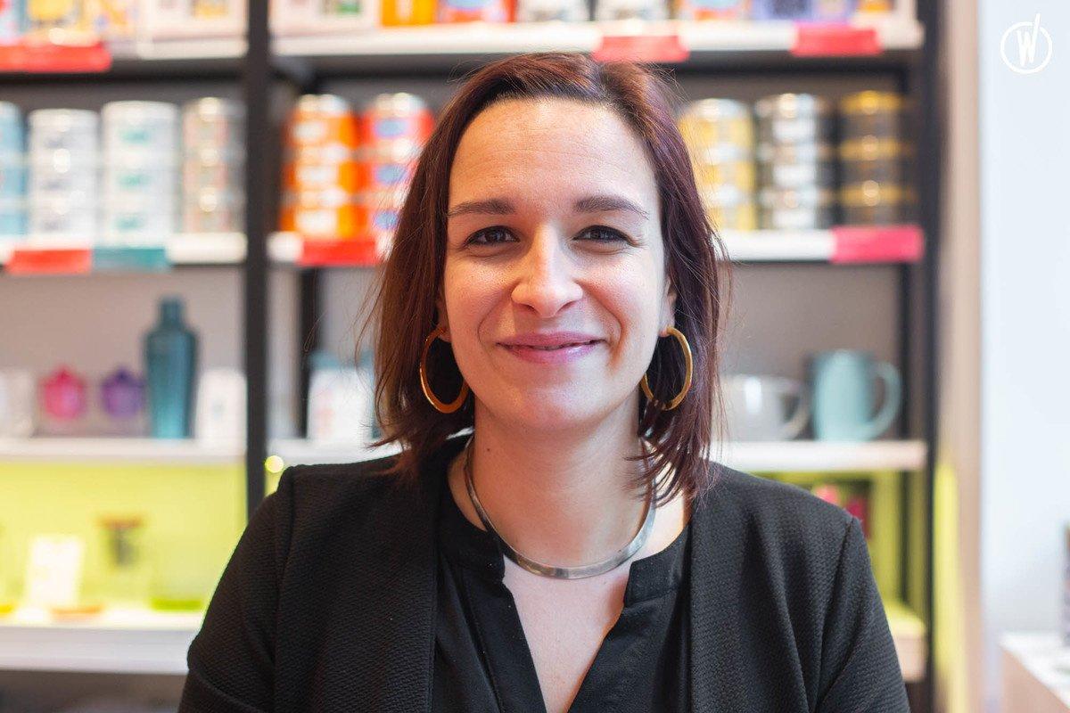 Rencontrez Noémie, Responsable boutique - Kusmi Tea