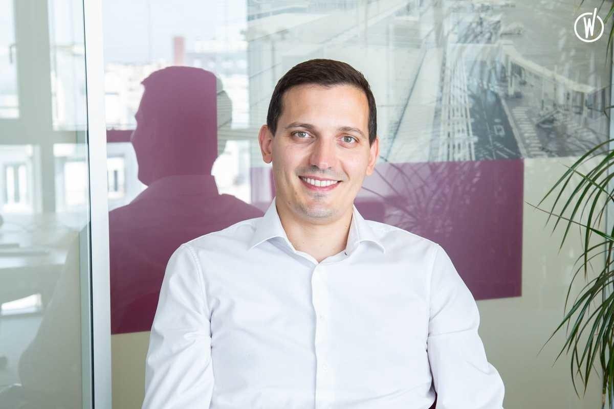 Rencontrez Antoine, Responsable du centre de compétences des ingénieries des automatismes - SIEMENS MOBILITY
