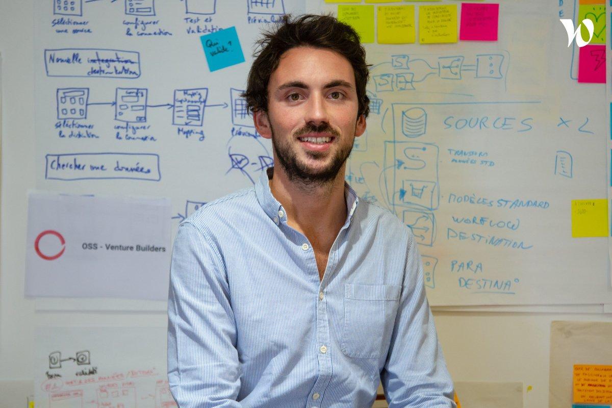 Rencontrez Adrien, CEO de mercateam - OSS - Ventures Builder