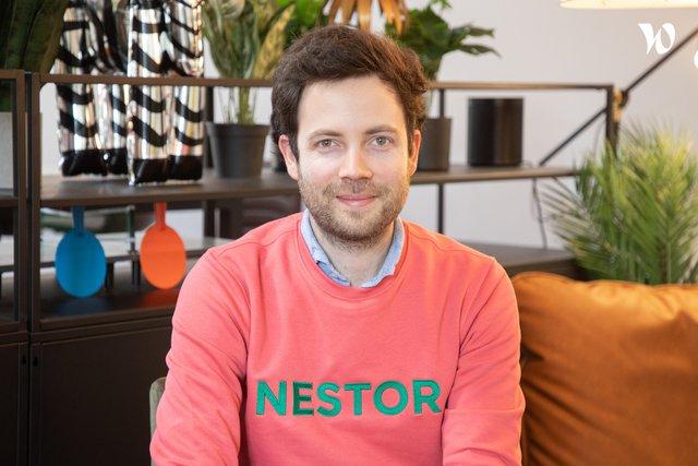 Rencontrez Sixte, CEO - Nestor