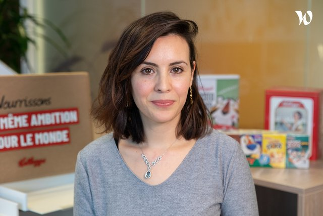 Rencontrez Lilia, Directrice des Ressources Humaines - Kellogg Company