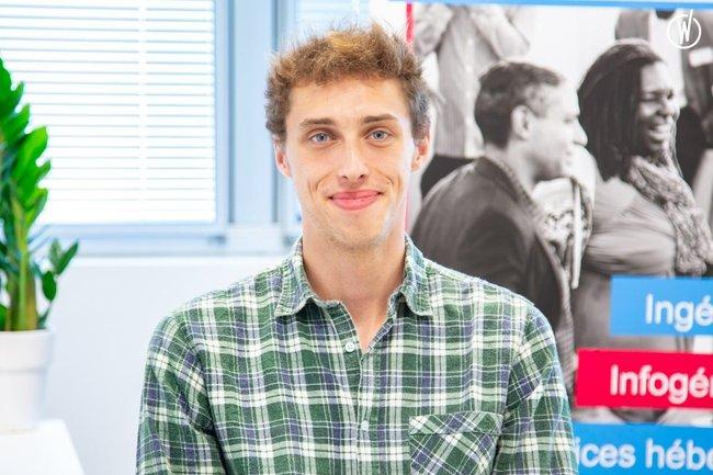 Rencontrez Johan, Technicien Système et Réseau - Ivision