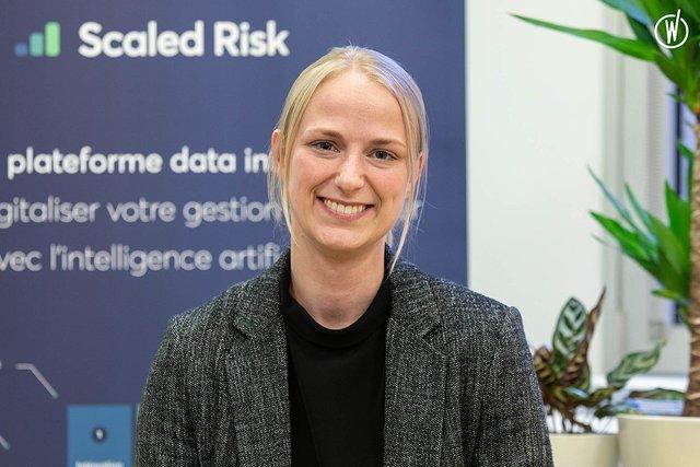 Rencontrez Solveig , Consultante en intégration  - Scaled Risk