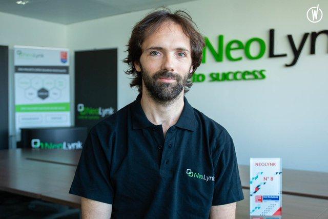Rencontrez Nicolas, Tech Lead JavaScript et Responsable de la Tribu JS - NeoLynk