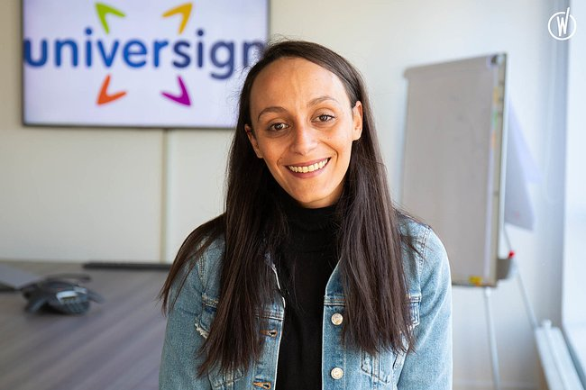 Rencontrez Yasmine, Senior talent acquisition - Universign