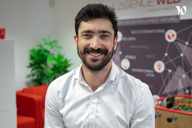 Rencontrez Amaury, Commercial - L'Agence Web