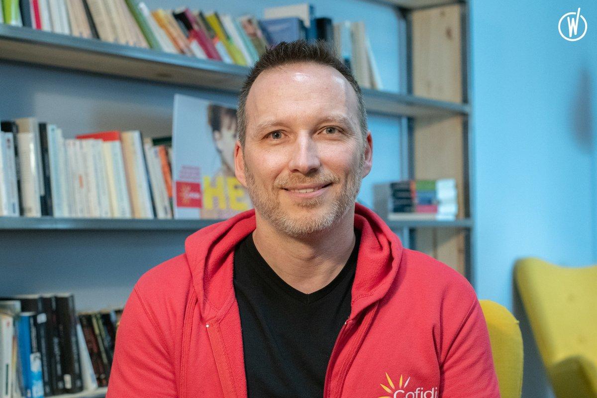 Rencontrez Lawrence, Chef de projet Organisation - Cofidis