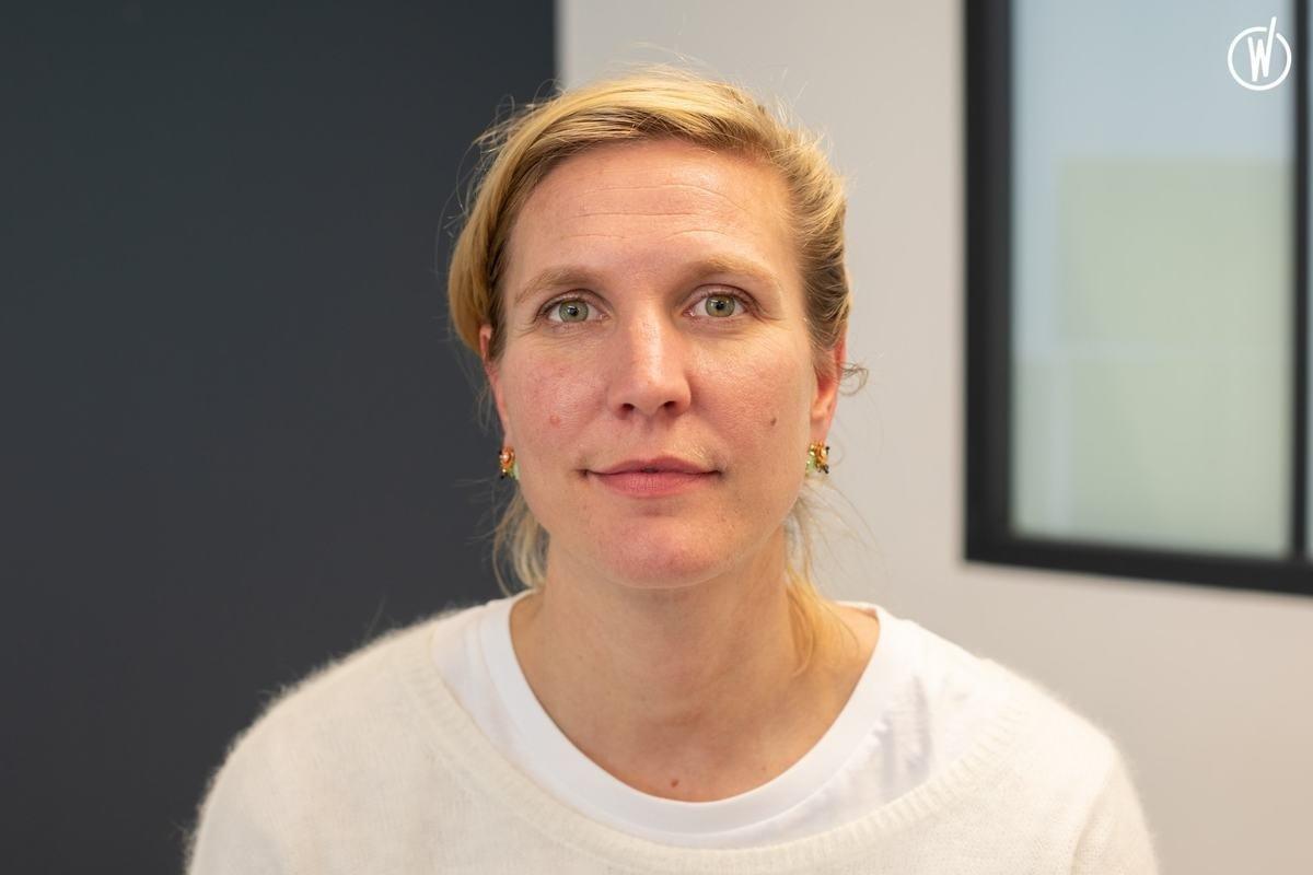 Rencontrez Héloise, Manager de l'espace Paris Châtelet - weréso