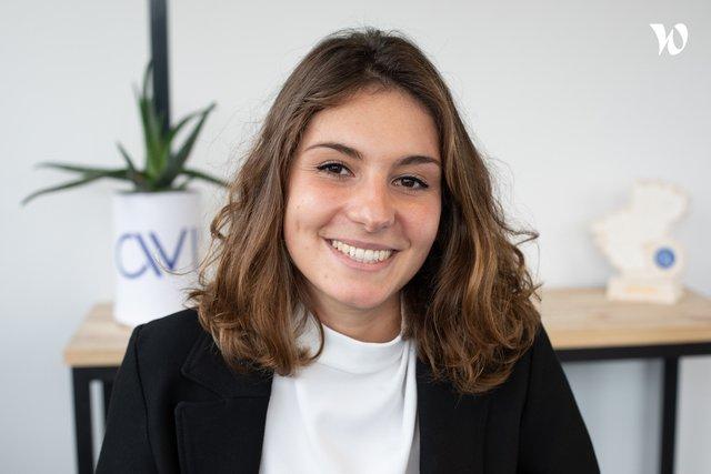 Rencontrez Margaux, Consultante - AVISIA