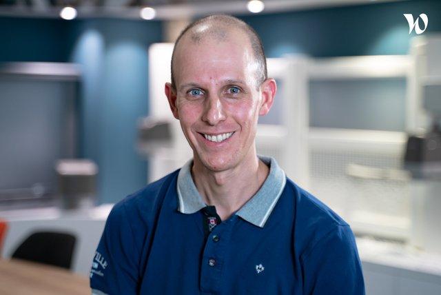 Rencontrez David, Hardware and mechatronics manager - Somfy