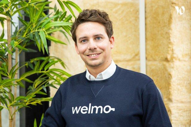 Rencontrez Nicolas, Président & Fondateur - WELMO