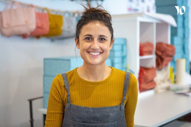 Rencontrez Astrid, Fondatrice et Responsable Marketing et Communication - PETIT PICOTIN