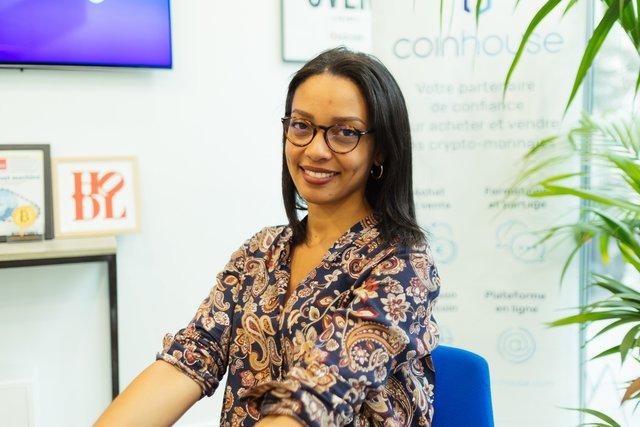 Rencontrez Océane, Business Developer - Coinhouse