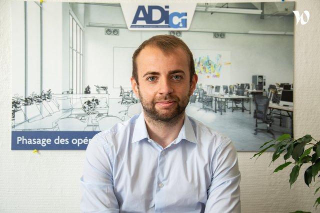 Rencontrez Stéphane, Chef de Projets - AD Lille - ADICI