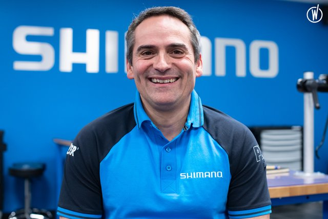 Rencontrez Cédric, Chef des Ventes - Shimano France