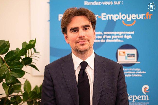Rencontrez Pierre-Olivier, Directeur Général - FEPEM, FEdération des Particuliers EMployeurs de France