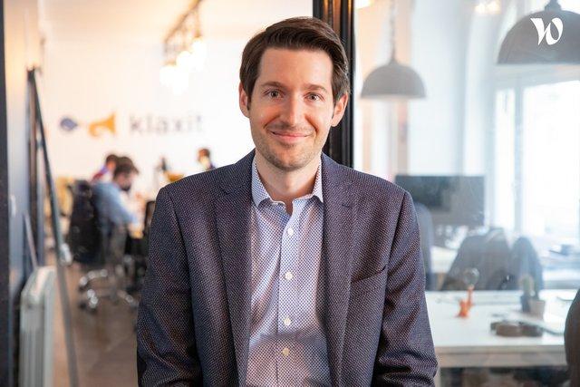 Rencontrez Julien, CEO - Klaxit