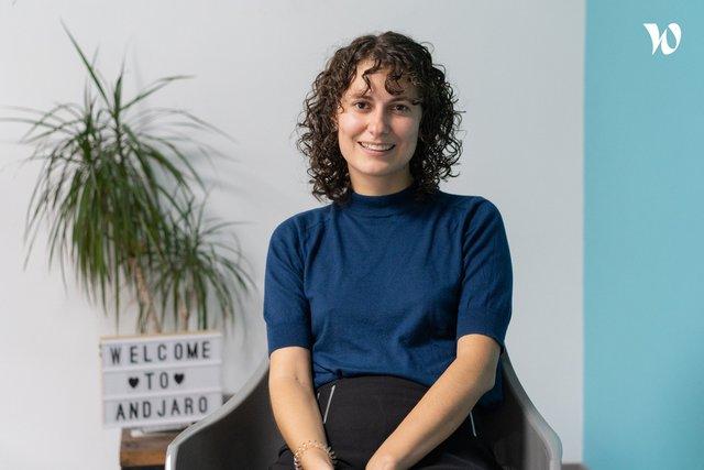 Rencontrez Claire Delys, Product Owner - Andjaro