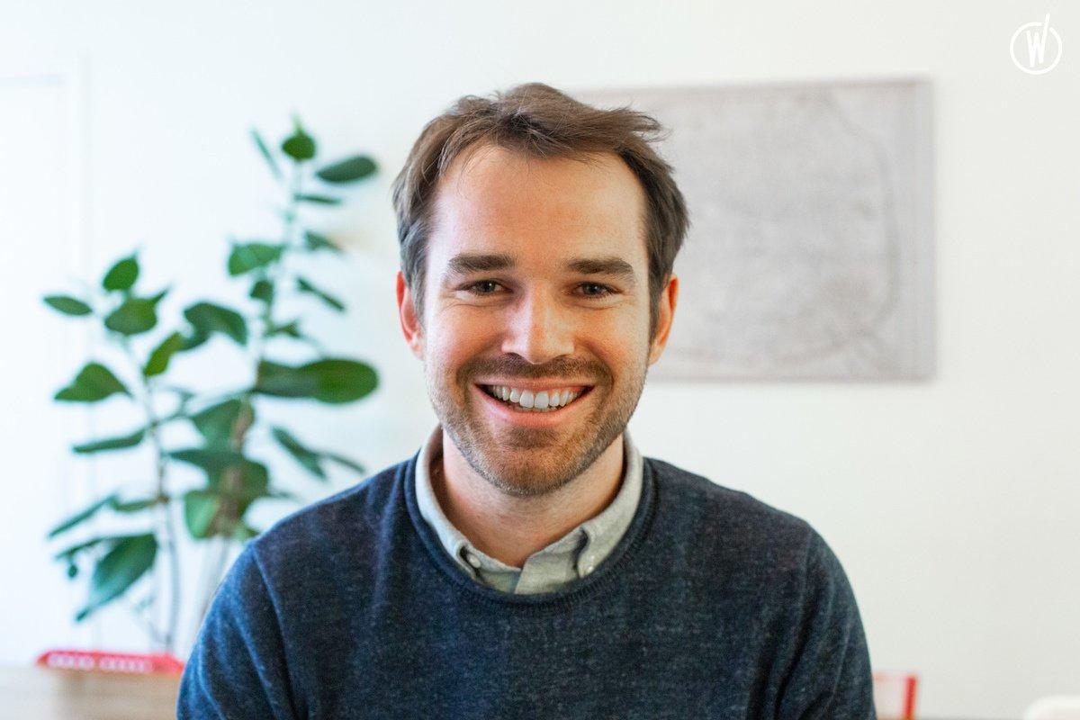 Rencontrez Gary, Chef de projet technique - Sooyoos