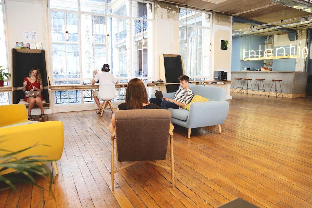 Dans les bureaux de talent.io, le dénicheur de talents tech