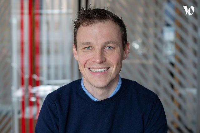 Rencontrez Thomas, VP Product & Engineering - EP