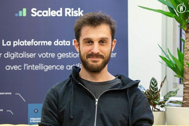 Rencontrez Stéphane, Développeur front-end - Scaled Risk