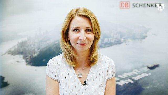 Lenka Zaoralová, Manažerka námořní přepravy - DB Schenker