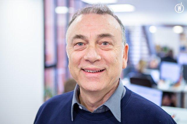 Rencontrez Jean-Paul, CSO  - ALGAMA FOODS