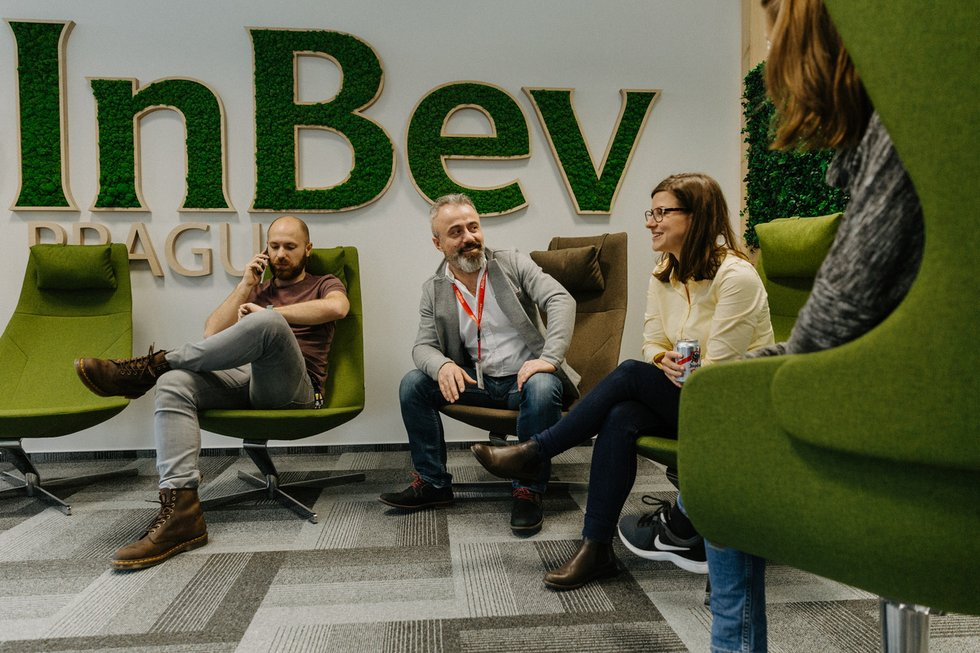 Discover the corporate culture at AB InBev Prague - AB InBev Prague