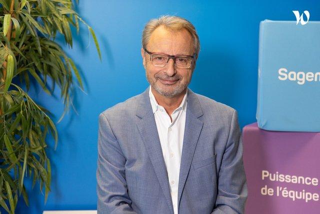 Rencontrez Patrick, Président du Groupe Sagemcom - Sagemcom