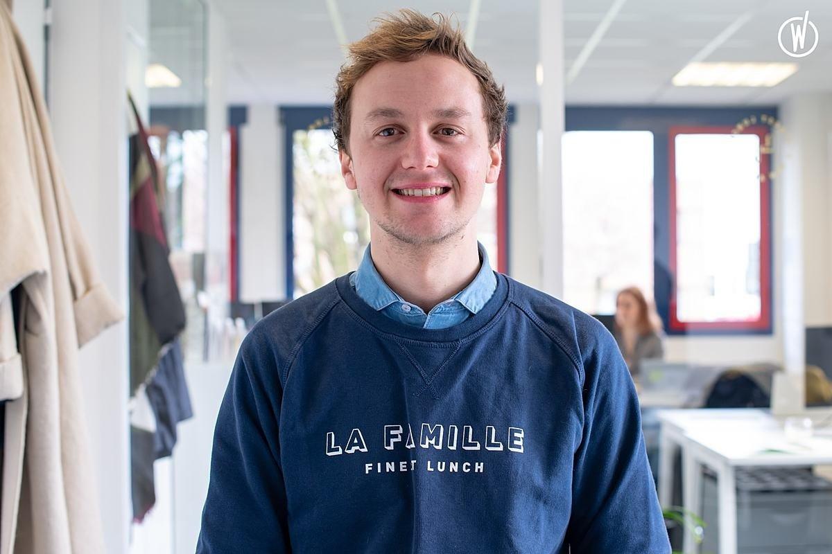 Rencontrez Charles, Responsable Commercial - La Famille, Finest Lunch