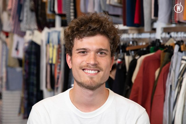 Rencontrez Damien, Chef de Produit - Le Slip Français