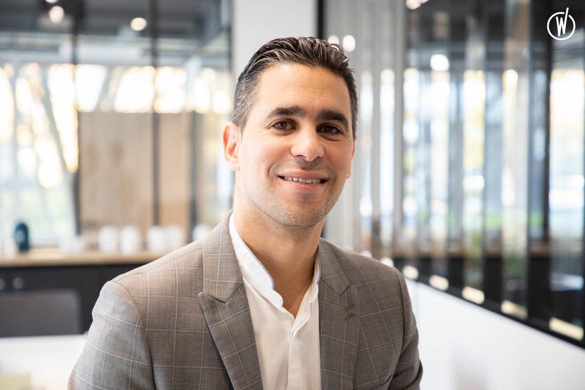 Rencontrez Kamel, Commercial Grands Comptes - evs professionnel