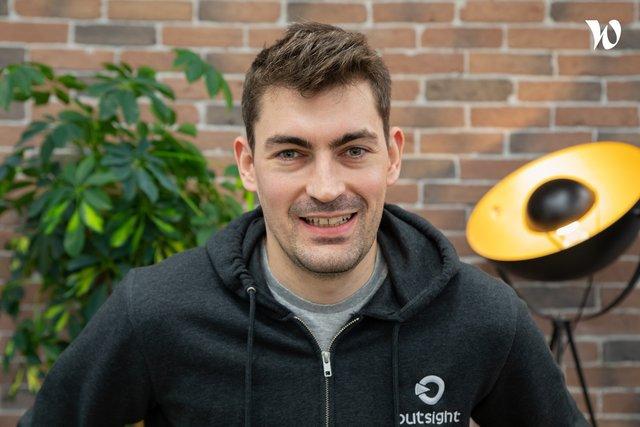 Rencontrez Clément, Software Engineer - Outsight