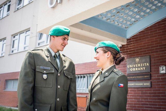 Staň se studentem Univerzity obrany! - Armáda České republiky
