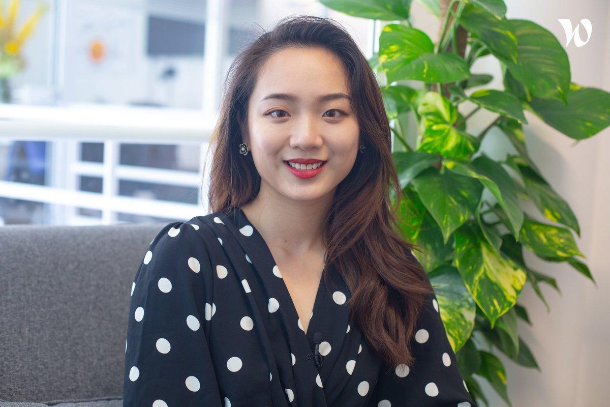 Rencontrez Chloé Chun, Junior Client Partner China Marketing, WITH Paris - WITH