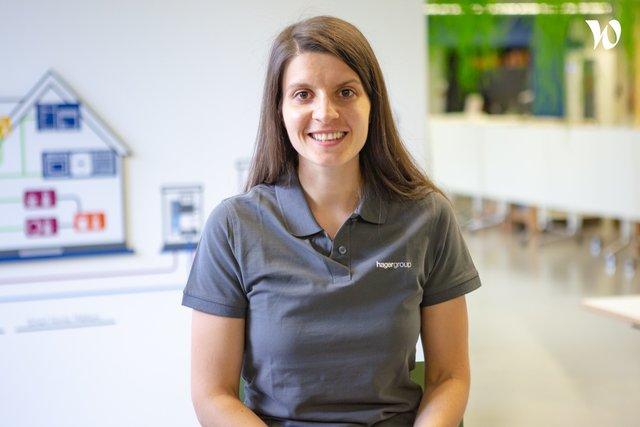 Rencontrez Marion, Ingénieur développeur logiciel - Hager Group