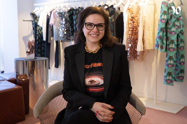 Rencontrez Tavani, Directrice boutiques - Paco Rabanne