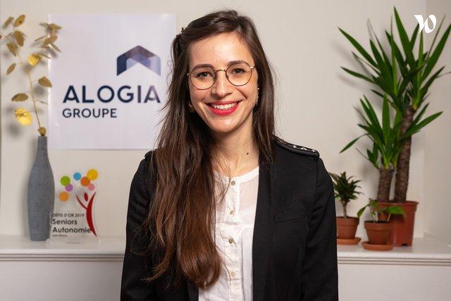 Rencontrez Amélie, Directrice Générale Adjointe Opérationnel - ALOGIA Groupe
