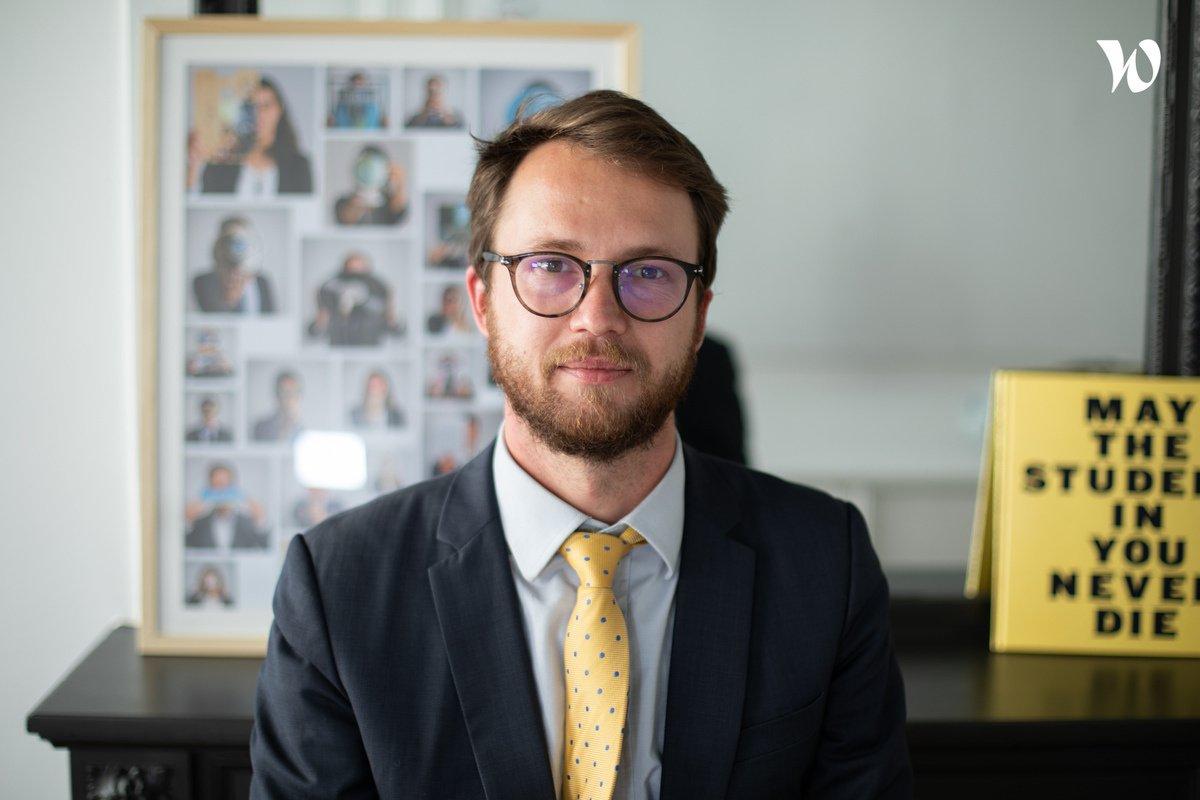 Rencontrez Maxime, Manager au sein de la communauté RSE & B-Corp - Bartle
