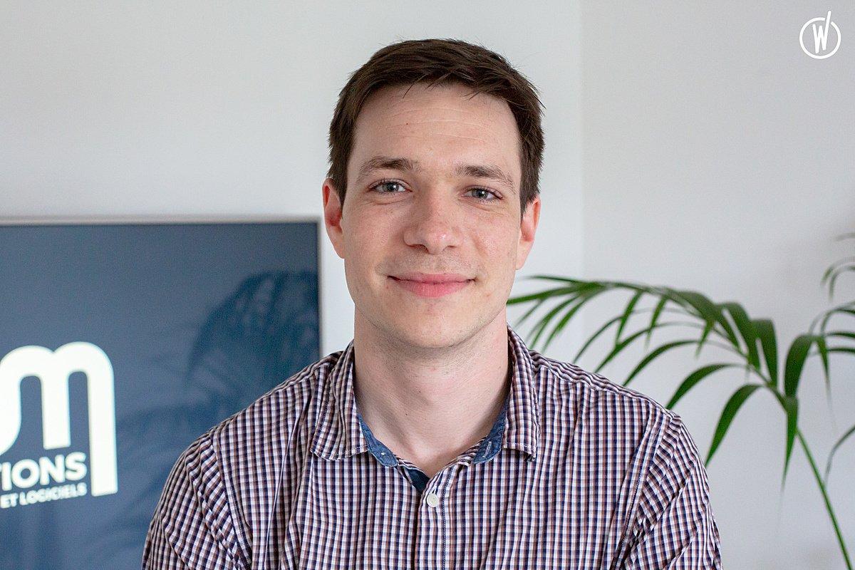 Rencontrez Pierre, Chef de projet - AM Créations