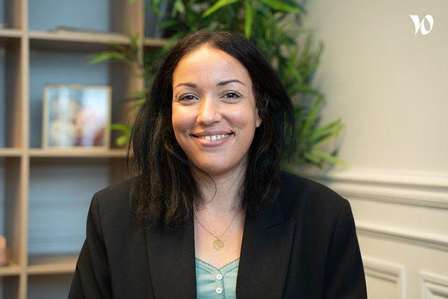 Rencontrez Nadia, Consultante média et data - The good will