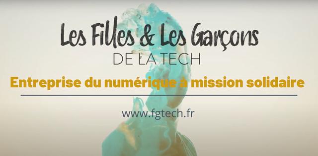 FGTECH : rejoignez une aventure hors du commun ! - Les Filles & Les Garçons de la Tech