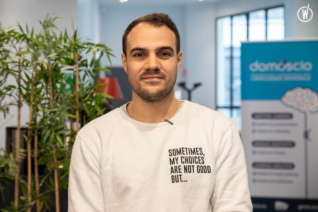 Rencontrez Benoit, Founder & CEO - Domoscio