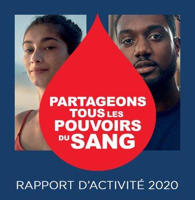 Rapport d'activité 2020 - Etablissement Français du Sang